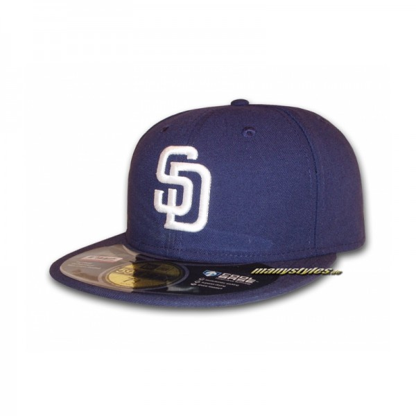 "San Diego PADRES 59FIFTY Authentic Performance Cap ""Authentic"" Home"