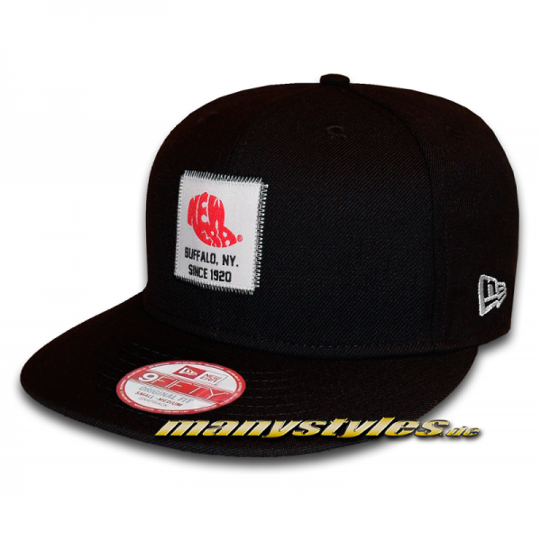 New Era Patched 9FIFTY Black Snapback Cap