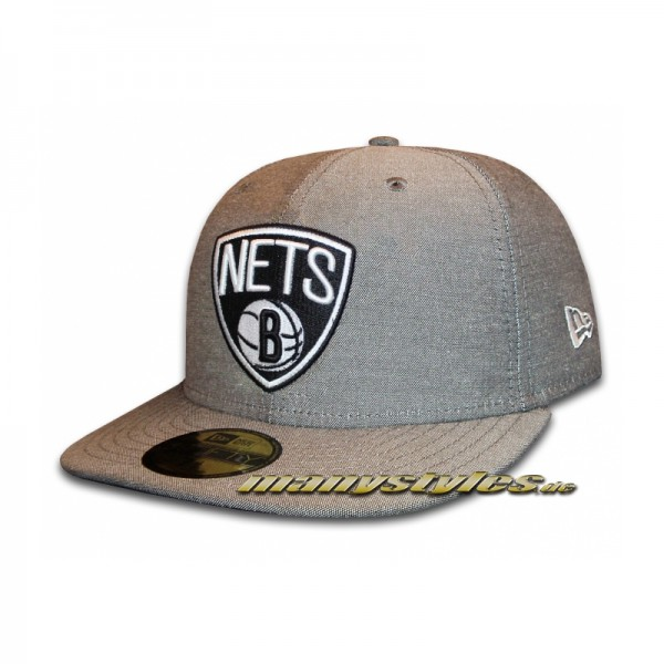 Brooklyn Nets 59FIFTY NBA Charmfifty Primary Cap
