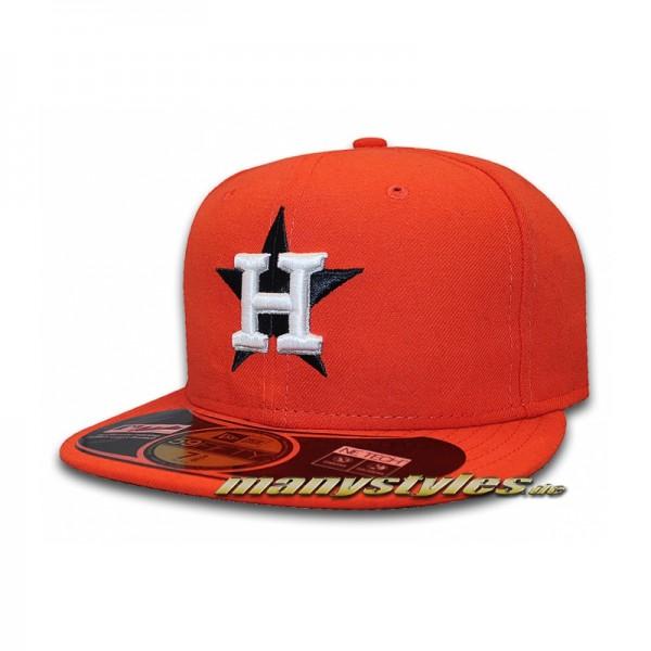 Houston Astros 59FIFTY MLB Alternate Authentic Cap Orange-Copy