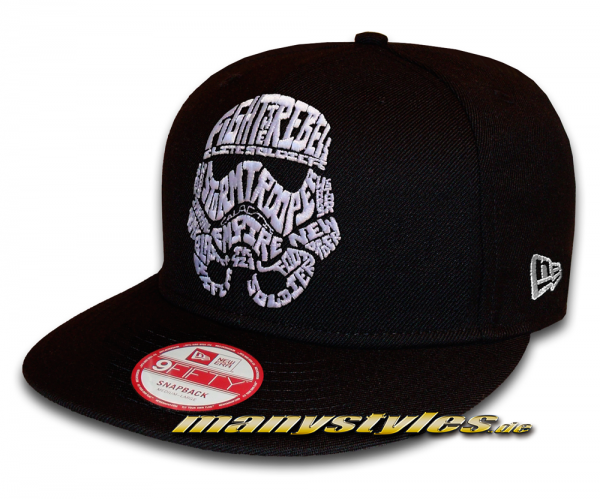 Star Wars Licensed Star Wars 9FIFTY Word Snapback Cap Storm Trooper von New Era