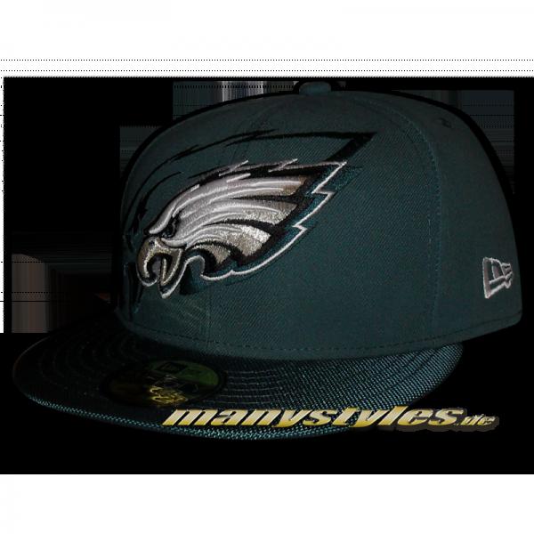 Philadelphia Eagles 59FIFTY NFL on field Sideline Cap Game