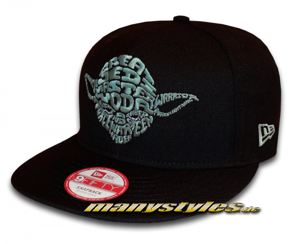 Star Wars Licensed Star Wars 9FIFTY Word Snapback Cap Yoda von New Era
