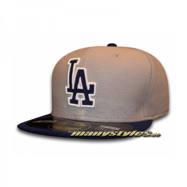 LA Dodgers 59FIFTY MLB Diamond Era Series on field Cap Authentic Road