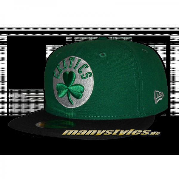 Boston Celtics 59FIFTY NBA Basic Cap Kelly Green Black