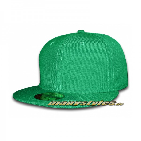 Blank New Era Cap without Logo - Kelly Green