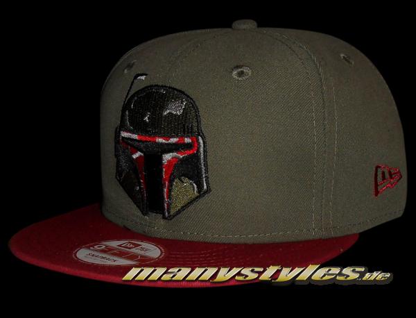 Star Wars Licensed 9FIFTY Novcar Boba Fett Snapback Cap von New Era