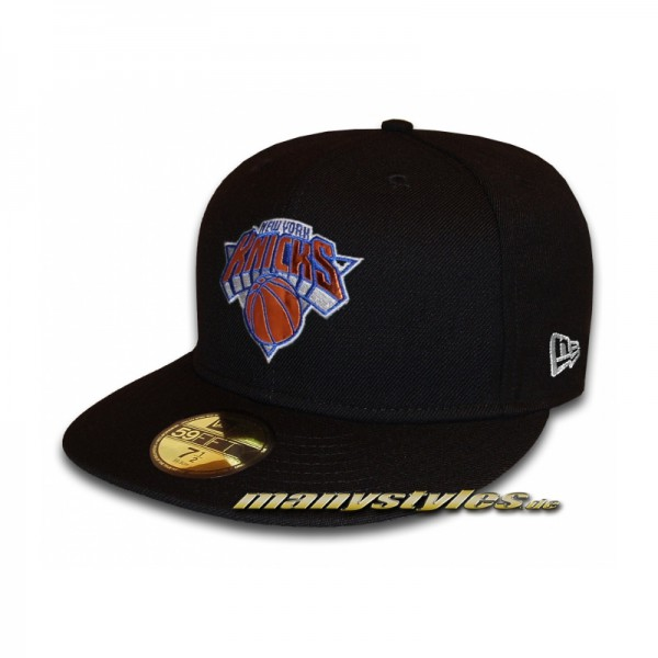 NY Knicks 59FIFTY NBA Teametallic Cap