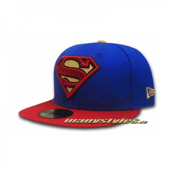 Superman DC 59FIFTY Comics Basic exclusive Team Royal Red Yellow