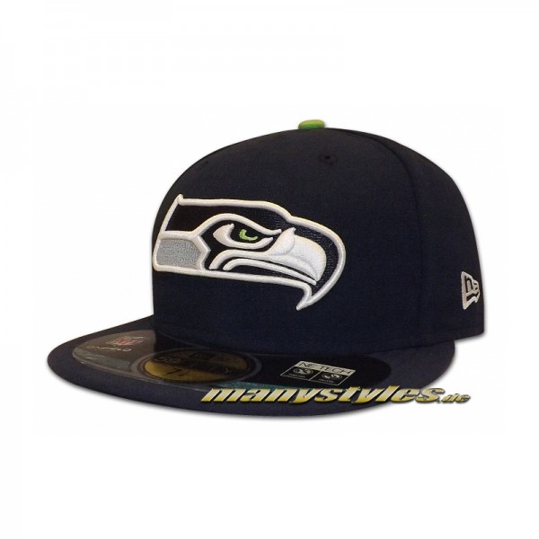 Seattle Seahawks 59FIFTY NFL on field Authentic Cap Game