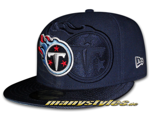 Tennessee Titans 59FIFTY NFL Sideline Cap Team Color