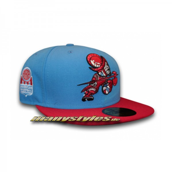 San Diego Conquistadores 59FIFTY ABA Classic Cap Team Color Blue Red