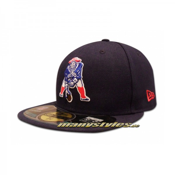New England Patriots 59FIFTY NFL on field Classic Game Authentic Cap