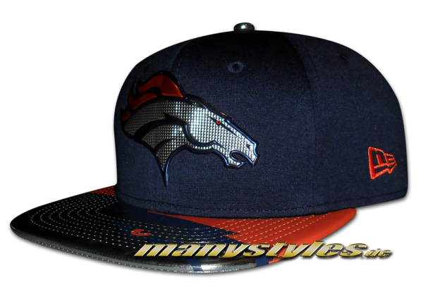 Denver Broncos 9FIFTY NFL 2017 Draft OF Snapback Cap