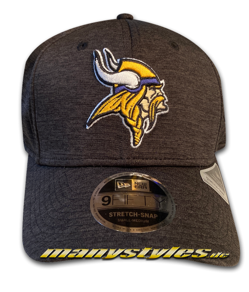 Minnessota Vikings 9FIFTY NFL Tonal Shadow Tech Stretch Snap Snapback Cap