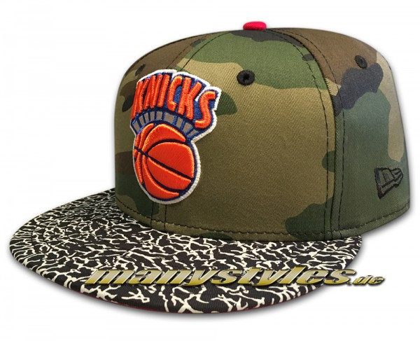 NY Knicks NEW ERA 59FIFTY NBA HWC CAP Camo Hook