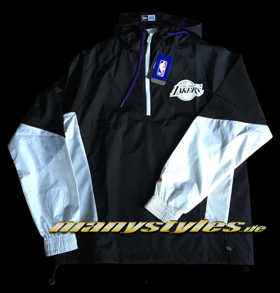 Los Angeles Lakers NBA Windbreaker Black White Purple OTC von New Era