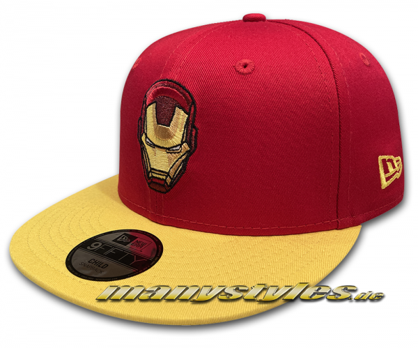Marvel Comics Avengers Ironman Kids Character 9FIFTY Snapback Cap von New Era