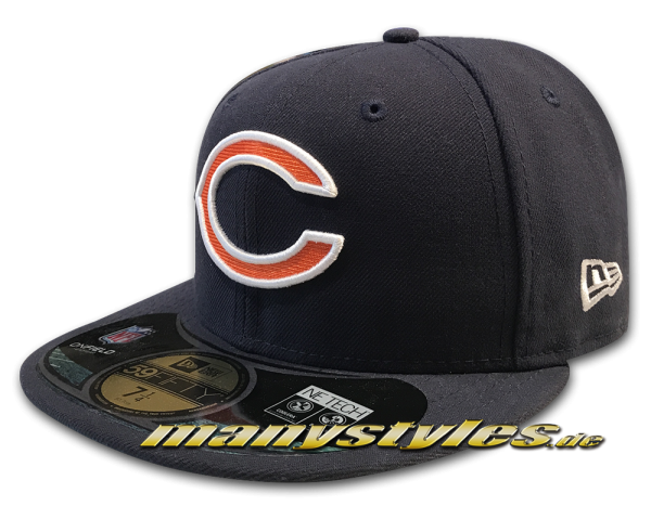 Chicago Bears 59FIFTY NFL on field Original Game Authentic von NEW ERA