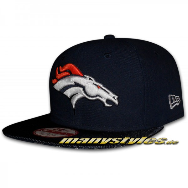 Denver Broncos 9FIFTY NFL on field Sideline Snapback Cap