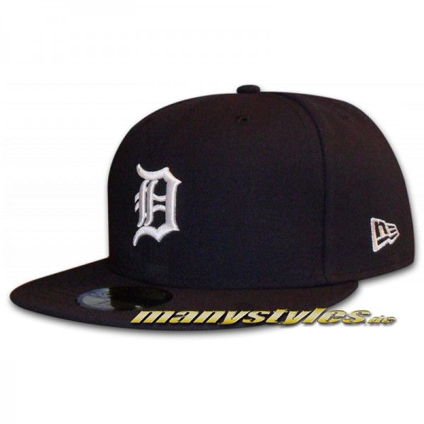 DETROIT TIGERS MLB NE Structure Cap Authentic Home 59FIFTY von New Era