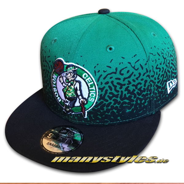 New Era Boston Celtics 9FIFTY NBA Speckle Rise Snapback Cap CelticsGreen Black