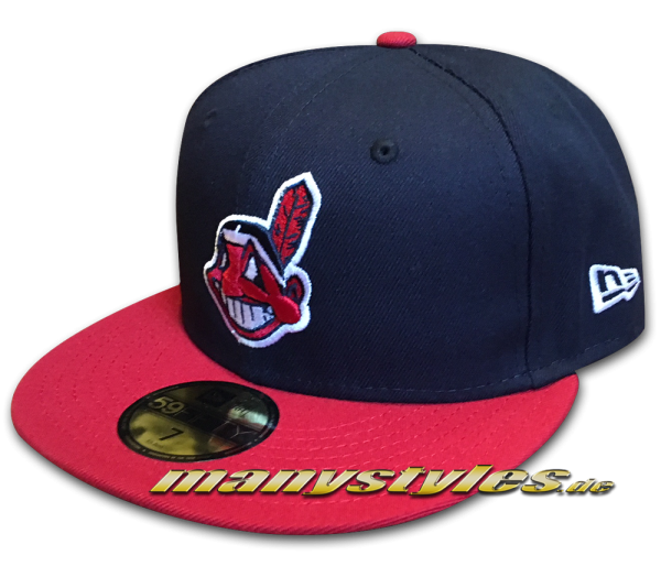 Cleveland INDIANS New Era team Structure Performance Authentic on field Cap Home