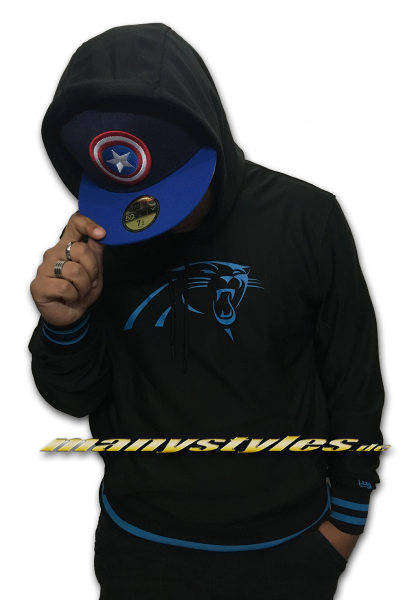 Carolina Panthers NFL Dry Era Hoody Black OTC Hooded Sweatshirt von New Era