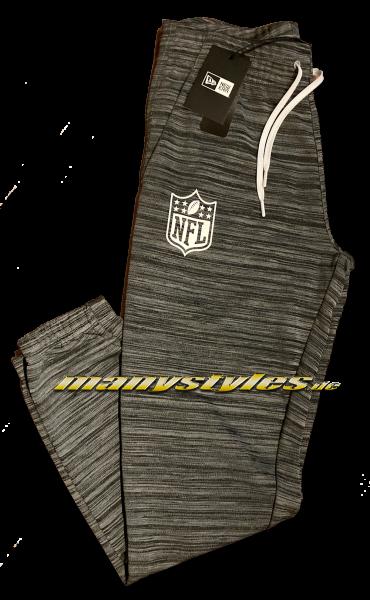 manystyles NFL Shield Logo Suit Pants Engineered Fit Grey Black von New Era
