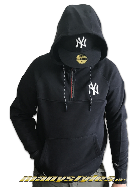 NY Yankees MLB Tech Series HZ Hooded Navy White OTC Official Team Color von New Era
