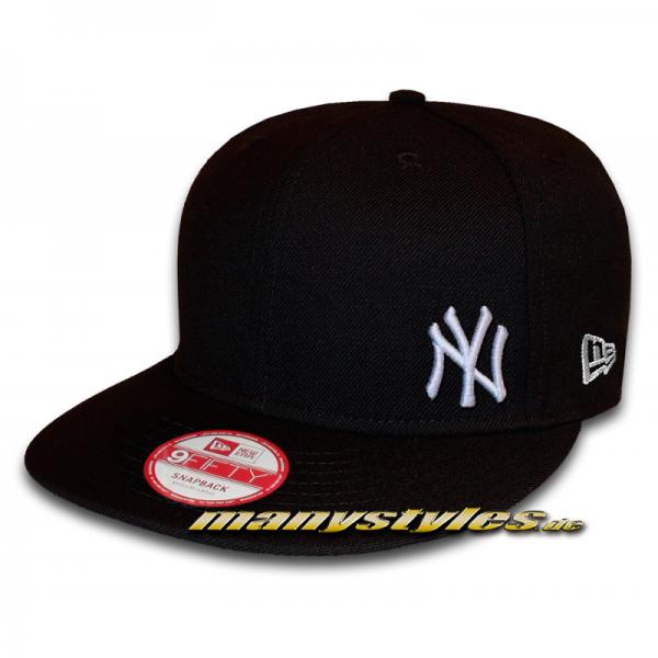 NY Yankees 9FIFTY MLB Flawless Black White Snapback Cap