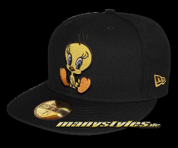 Looney Tunes Tweety 59FIFTY Fitted exclusive Cap in Black von New Era