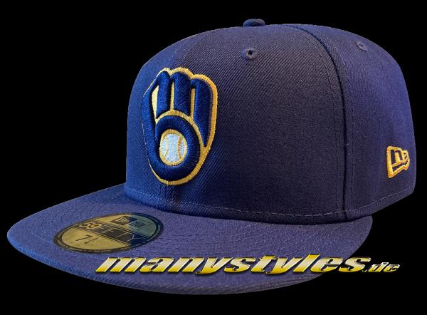 Milwaukee Brewers MLB 59FIFTY Authentic NE Team Structure Cap von New Era