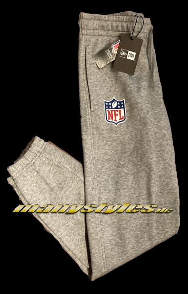 manystyles NFL Shield Logo Suit Pants Heather Graphite Grey von New Era