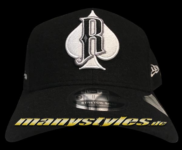 Reno Aces MiLB 9FIFTY Minor League Melton Stretch Snapback Cap Black White von New Era
