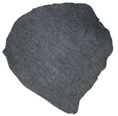 Blank Flex Fit Basic Beenie Dark Grey von Yupoong