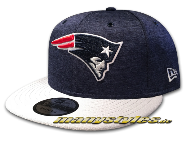 New England Patriots 9FIFTY Home NFL Sideline 2018 Snapback Cap von New Era