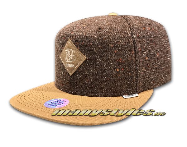Djinns Ultra Sport Snapback Cap Wheat Brown