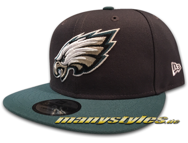 Philadelphia Eagles 9FIFTY NFL Emea 950 Snapback Cap Graphite OTC von New Era