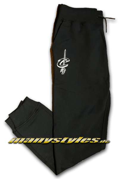 Cleveland Cavaliers NBA Jogger Suit Pants Black OTC von New Era