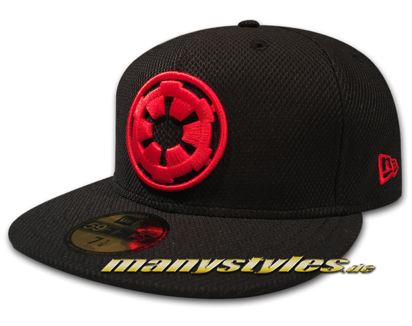 Star Wars Licensed Disney 59FIFTY Fitted Exclusive Empire Cap Imperial 1st Order Black Scarlet Red von New Era