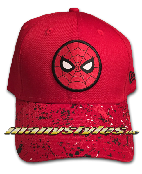 Marvel Comic Spiderman Kids Pack 9FORTY Adjustable Cap Scarlet Red Black White von New Era