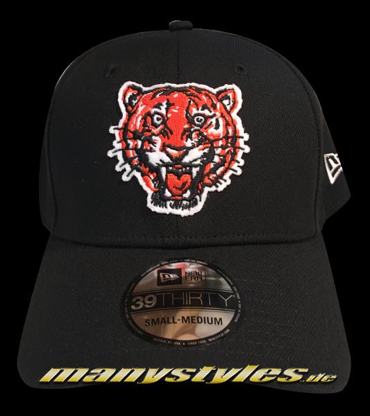 Detroit Tigers 39THIRTY MLB Cooperstown Heritage Curved Visor Adjustable Cap von New Era