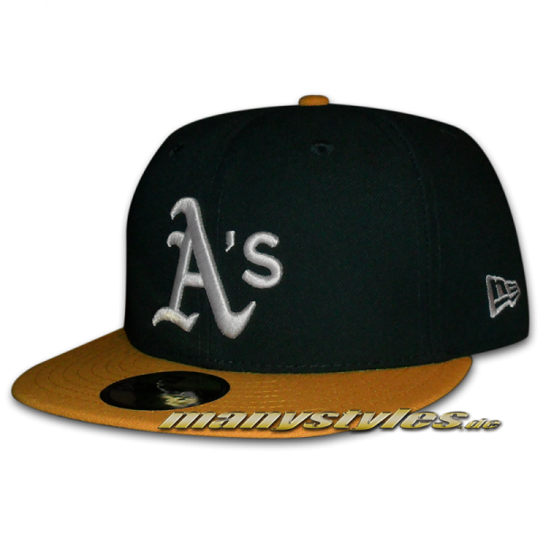 Oakland Athletics 59FIFTY MLB Authentic NE Team Structure Cap Home