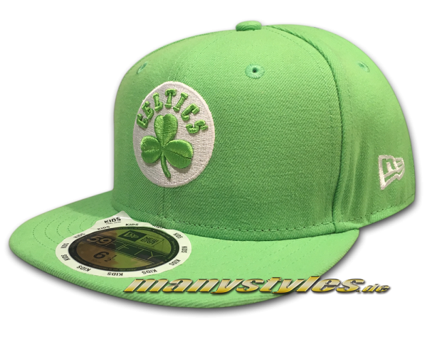 Boston Celtics 59FIFTY New Era NBA Team HWC Kids Basic Cap frontside
