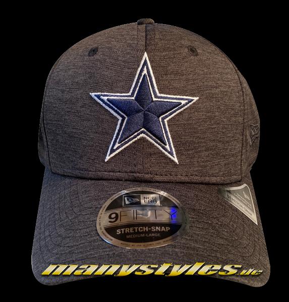 Dallas Cowboys 9FIFTY NFL Tonal Shadow Tech Stretch Snap Snapback Cap