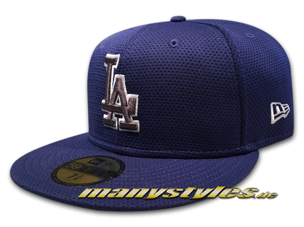 LA Dodgers MLB 59FIFTY Tone Tech Redux 5950 Cap Royal White OTC von New Era