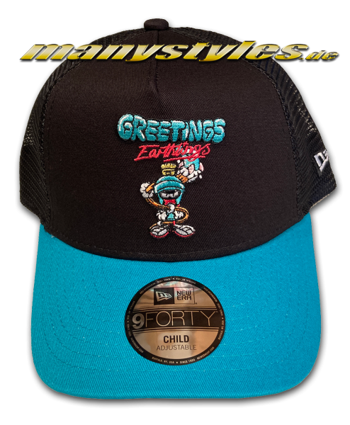 Looney Tunes Marvin The Martian 9FORTY Kids WB Character Trucker Cap