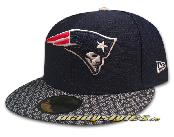 New England Patriots 59FIFTY NFL Sideline 2017 On Field Cap new era