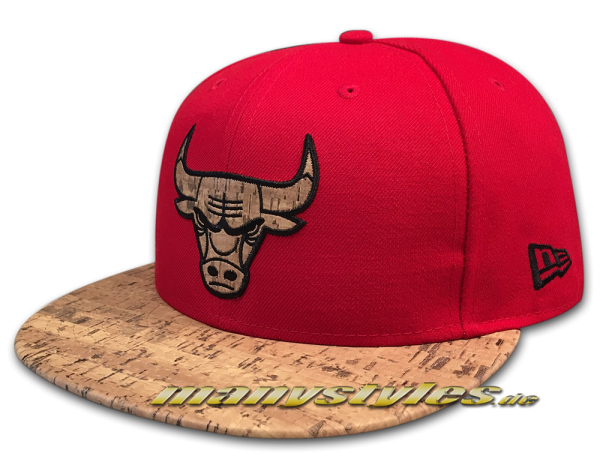 Chicago Bulls 59FIFTY NBA Cap Fitted Cork frontside